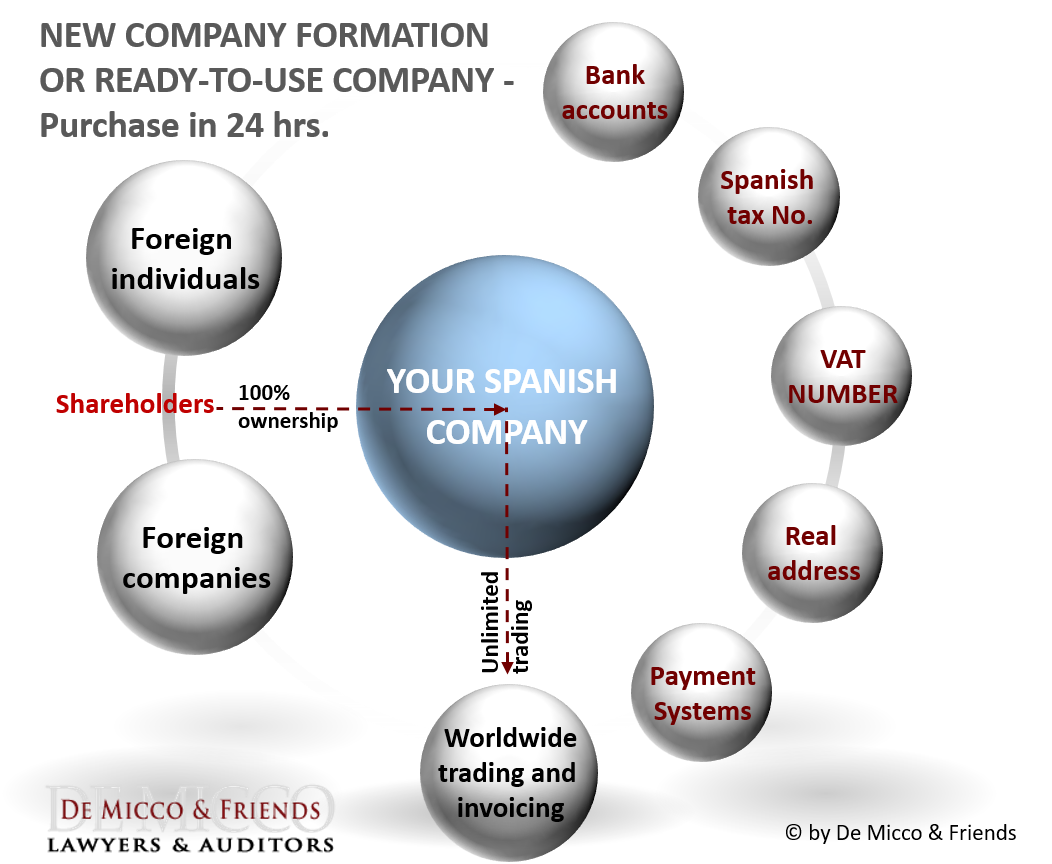 De Micco & Friends Company incorporation Spain